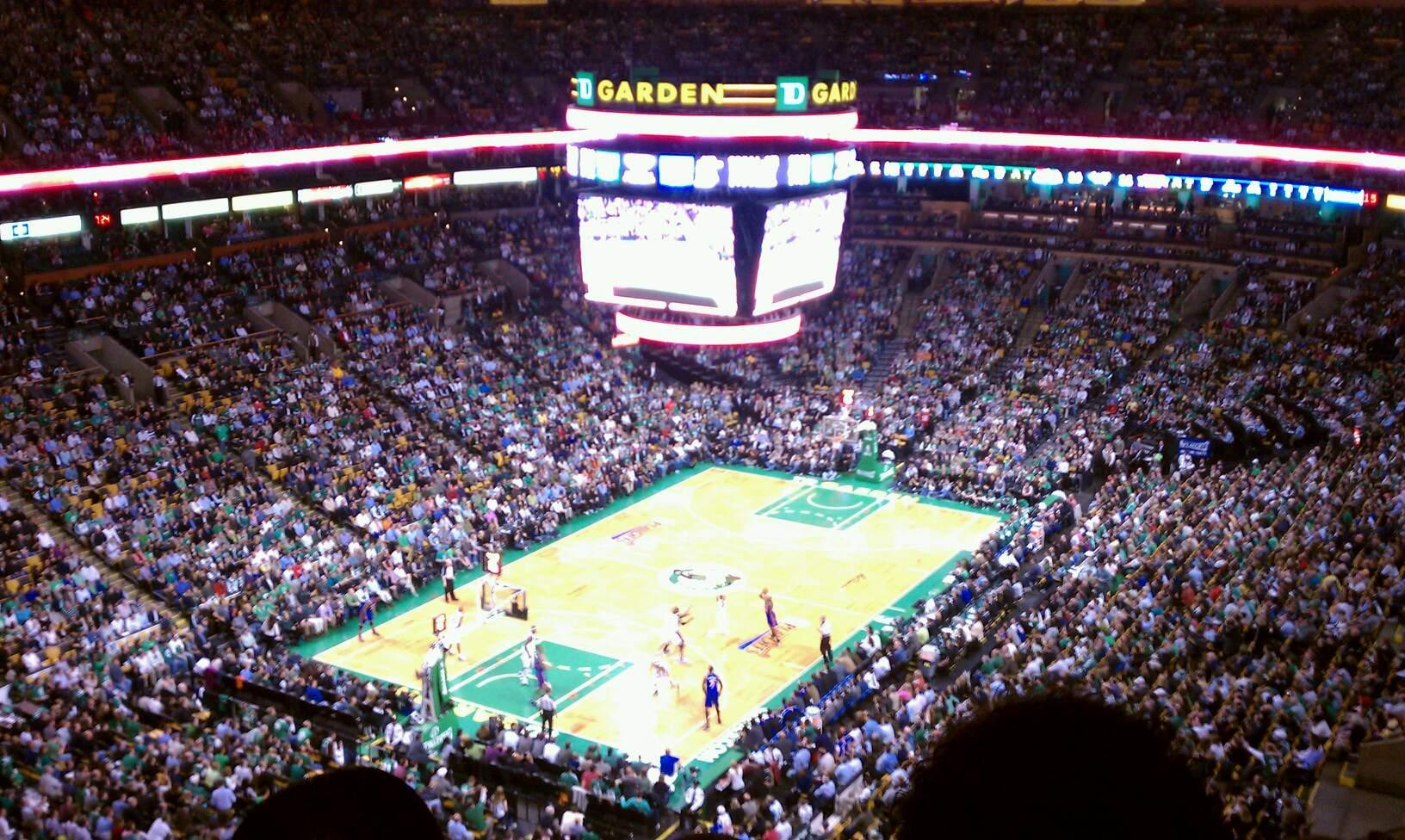 Boston Celtics Td Garden Section 306