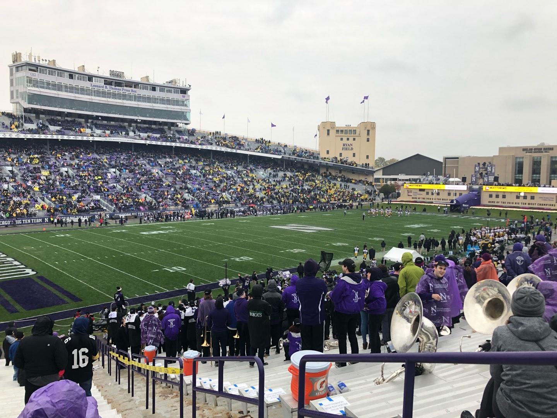 Ryan Field Section 113 Row 41 Seat 4