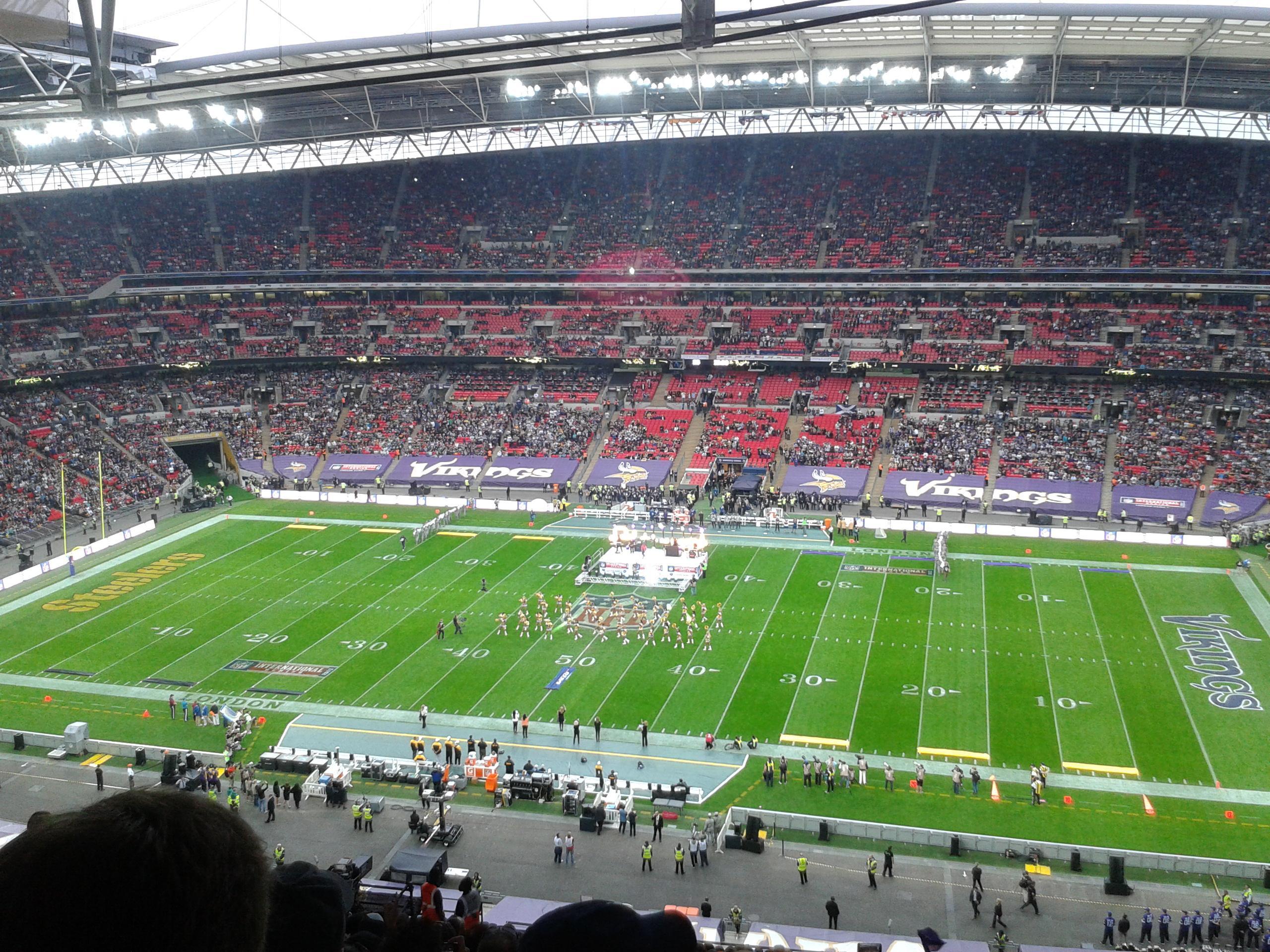 Wembley Stadium Section 524 Row 25 Seat 333