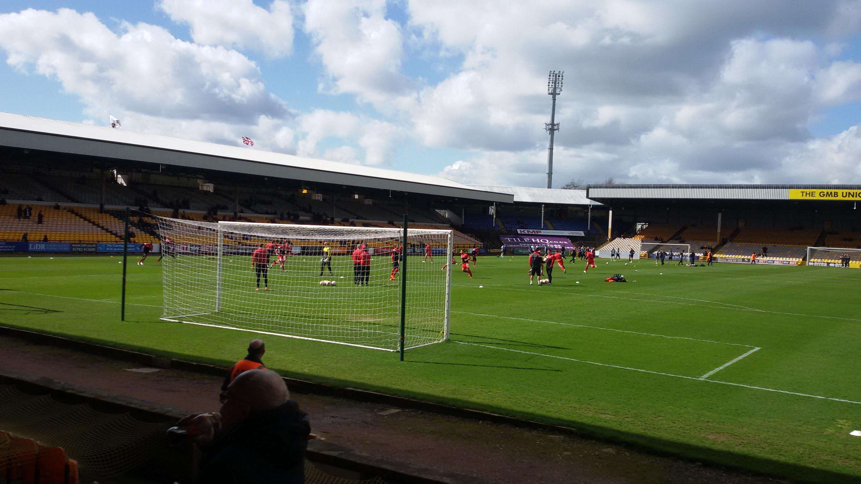 Vale Park Section Hamil Road Stand