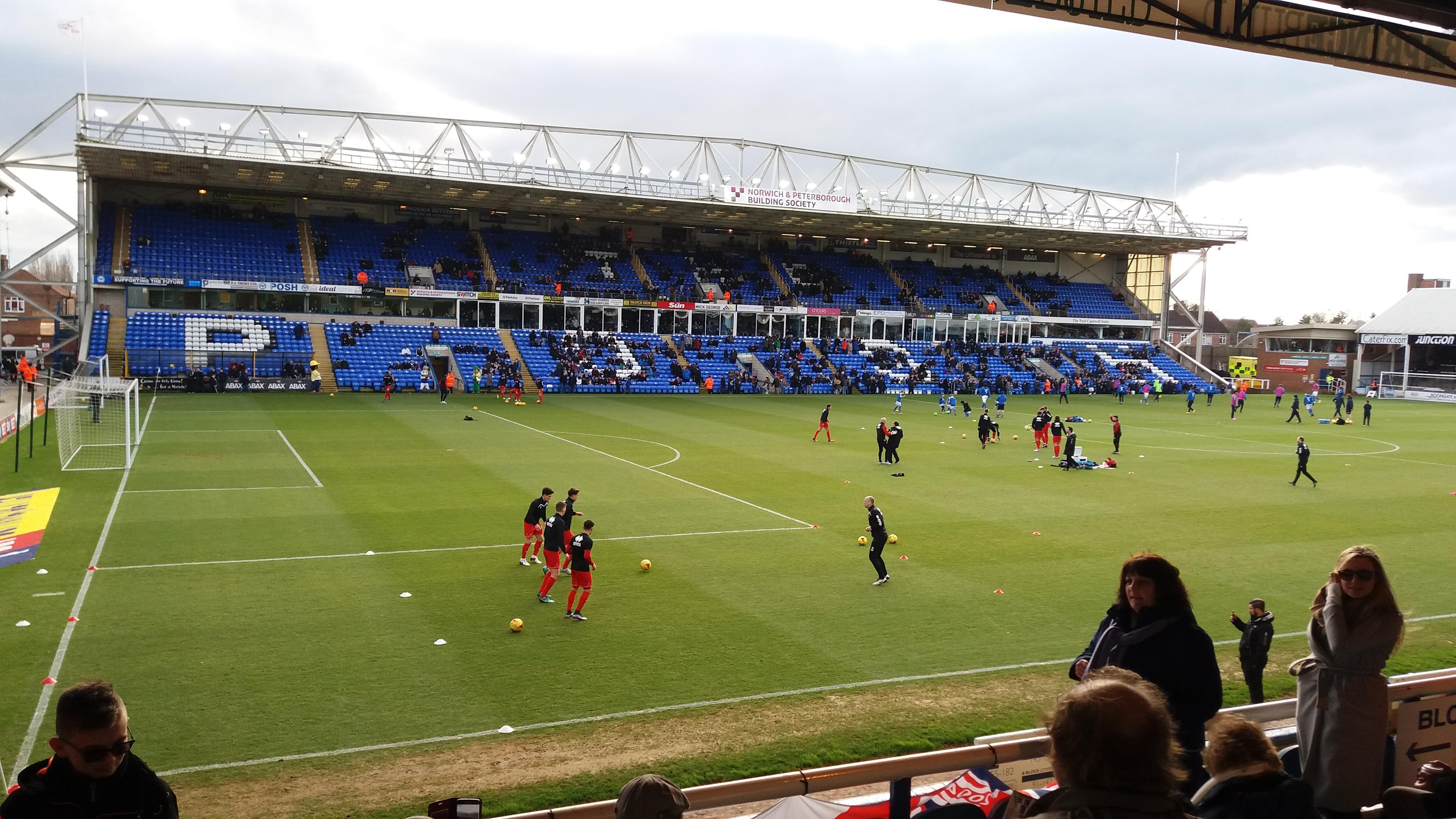 London Road Stadium Section Main Stand Row N