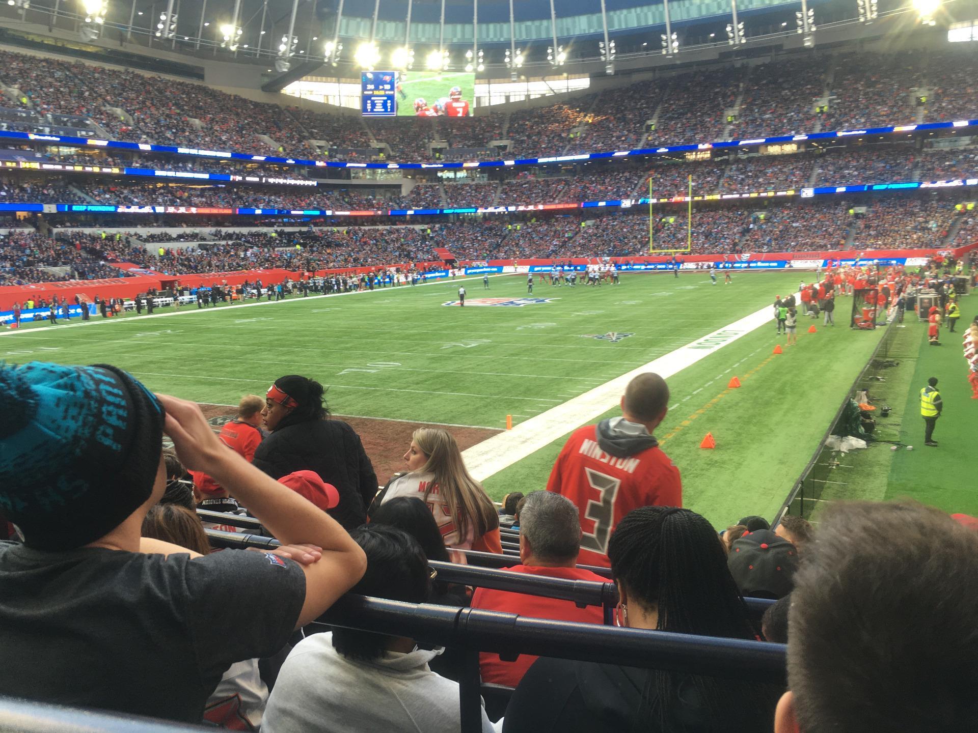 Tottenham Hotspur Stadium Section 251 Row 13 Seat 134