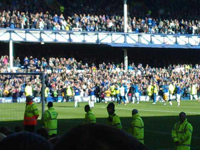 Goodison Park Section gwladys Row n  Seat 62