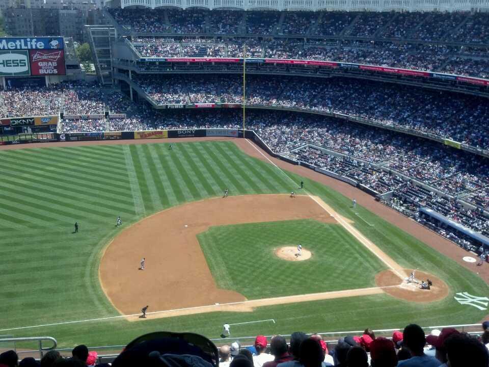 Yankee Stadium Section 425 Row 11 Seat 18