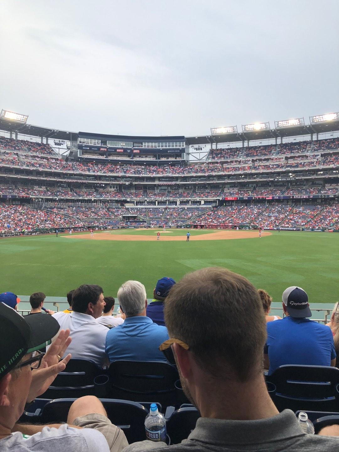 Nationals Park Section 142 Row G Seat 14