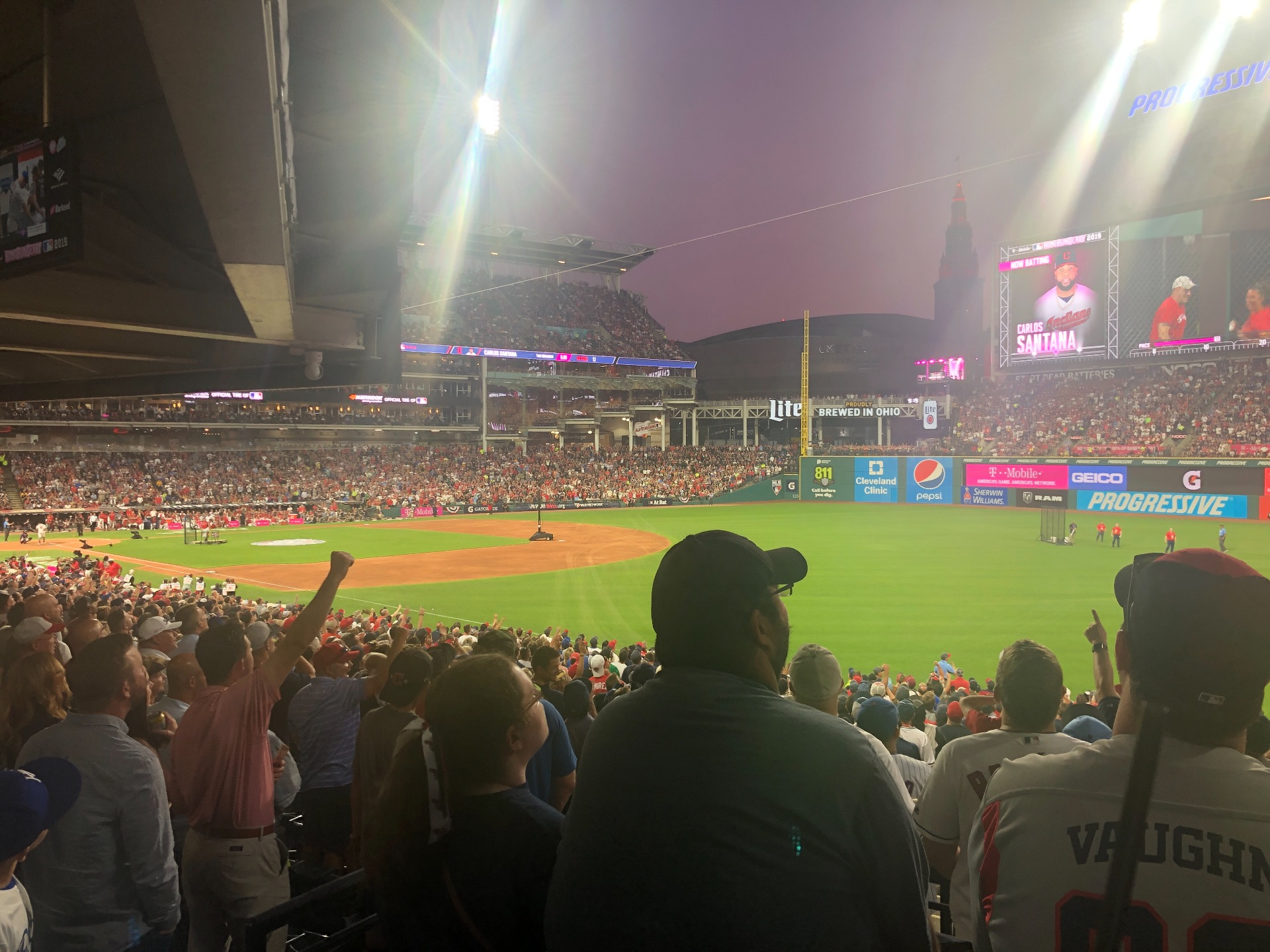 Progressive Field Section Standing Room Only