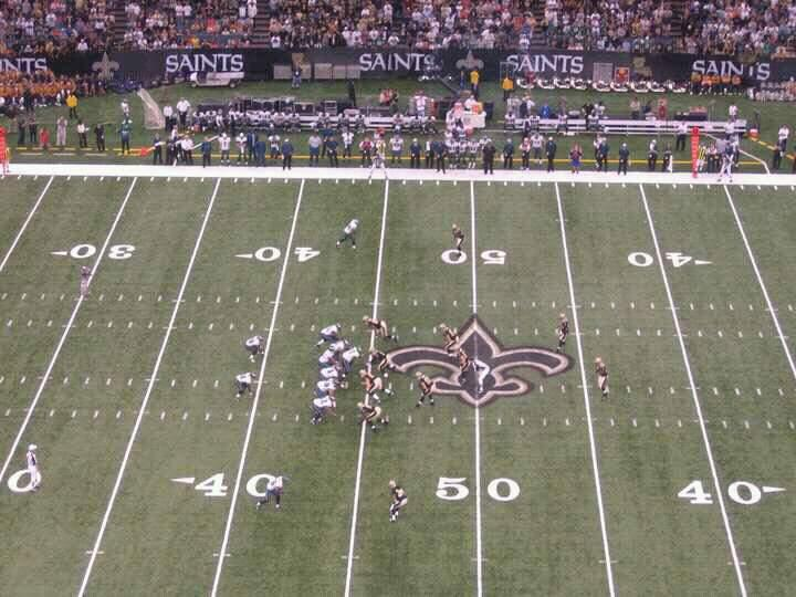Mercedes-Benz Superdome Section 640 Row 22 Seat 12
