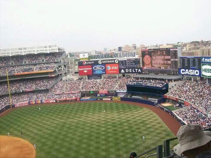 Yankee Stadium Section 413 Row 8 Seat 5