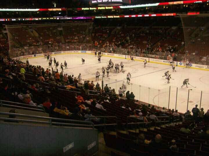 Wells Fargo Center Section Club Box 4 Row 1 Seat 5