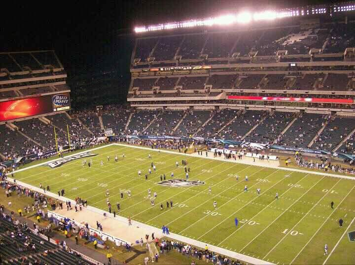Lincoln Financial Field Section 230 Row 21 Seat 16