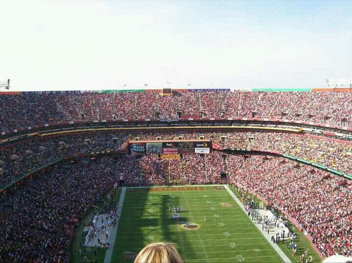 FedEx Field Section 442 Row 29 Seat 11