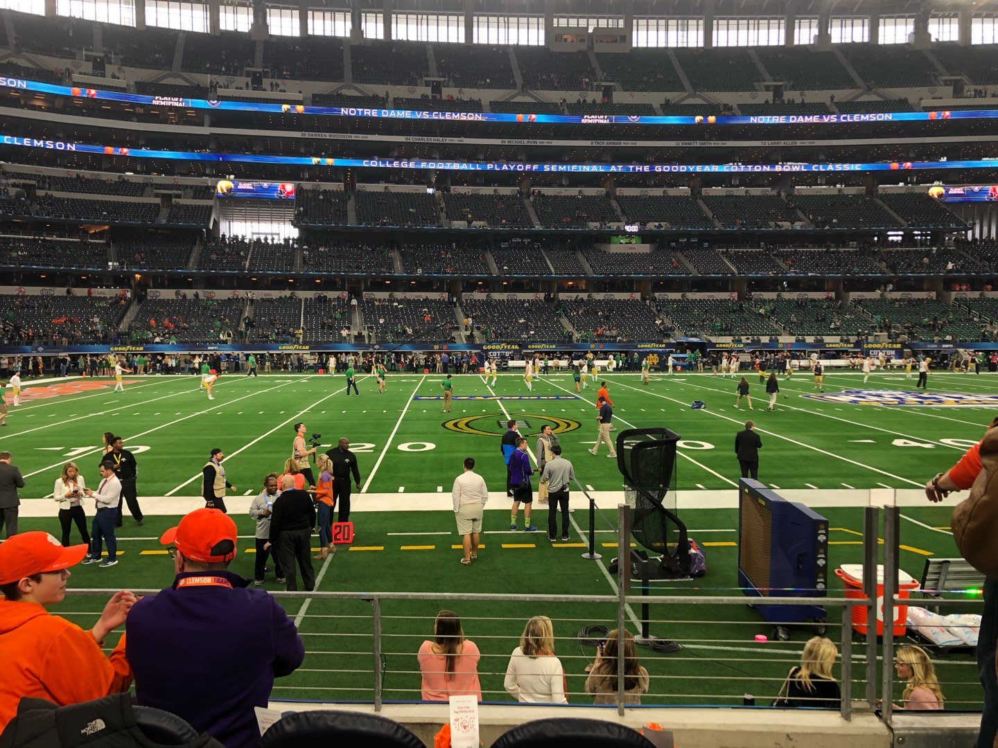 AT&T Stadium Section C113 Row 4 Seat 3