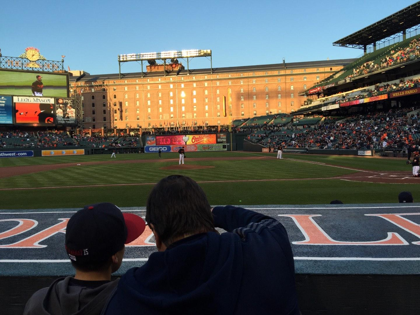 Oriole Park at Camden Yards Section 50 Row 2 Seat 1/2