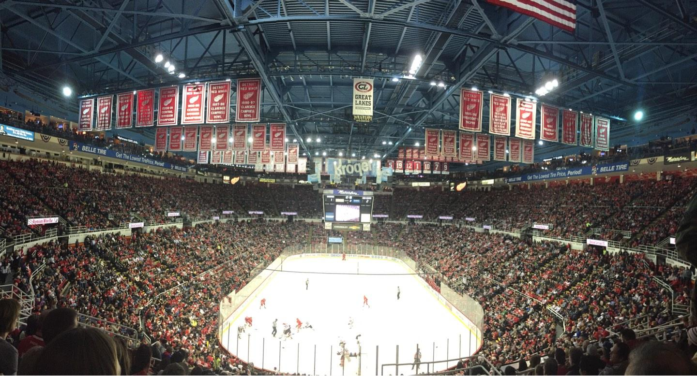 Joe Louis Arena Section 201 Row 11 Seat 4