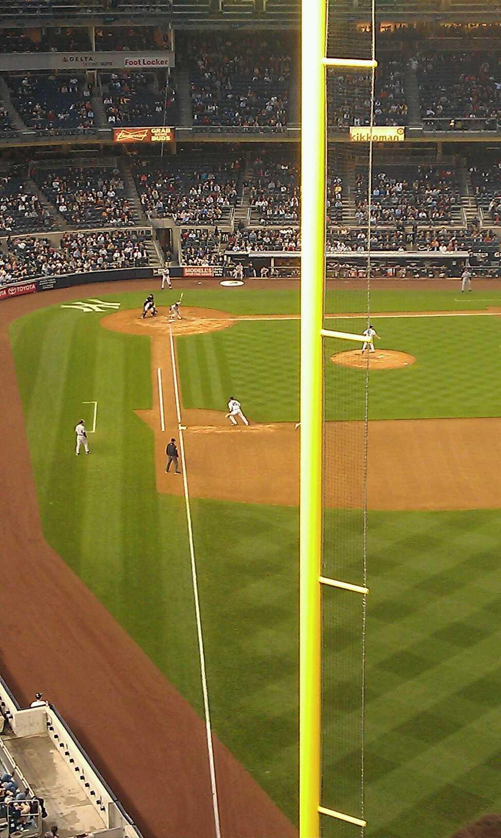 Yankee Stadium Section 307 Row 6 Seat 8