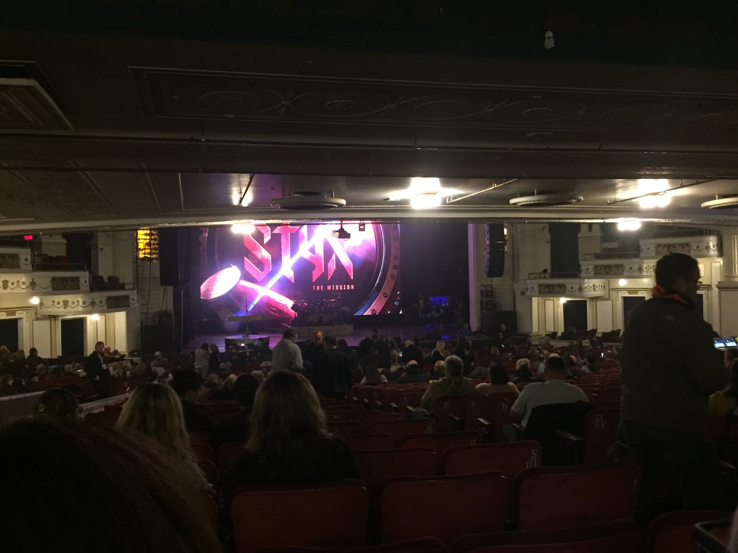 Orpheum Theatre (Boston) Section Orchestra LC Row X Seat 107