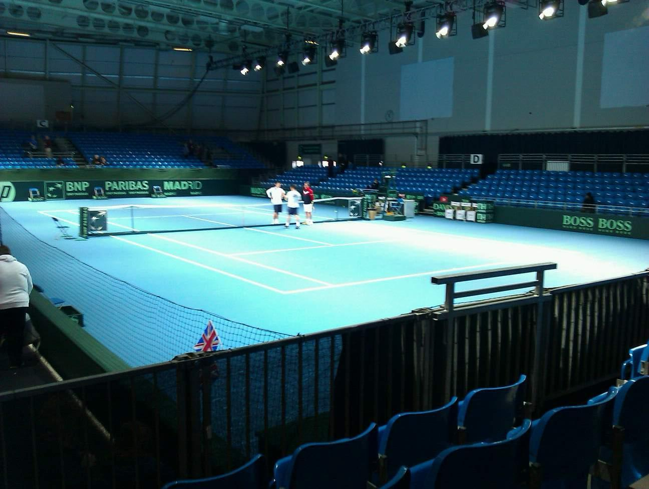 Bolton Arena Section a Row d Seat 58
