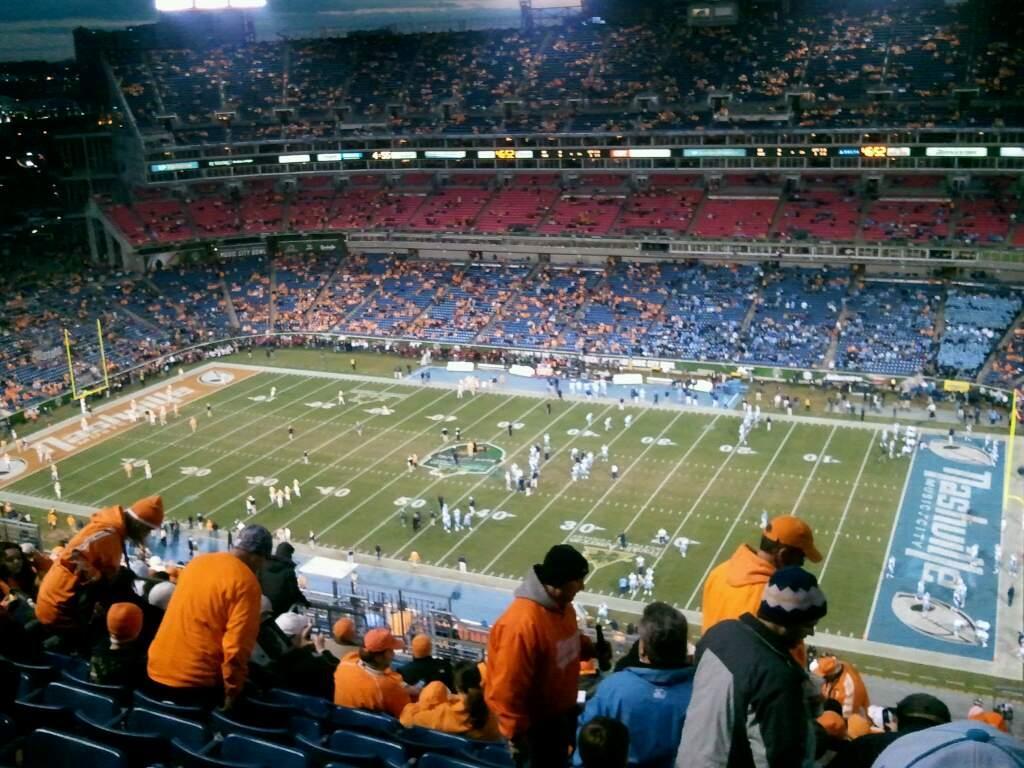 Nissan Stadium Section 308 - Tennessee Titans ...