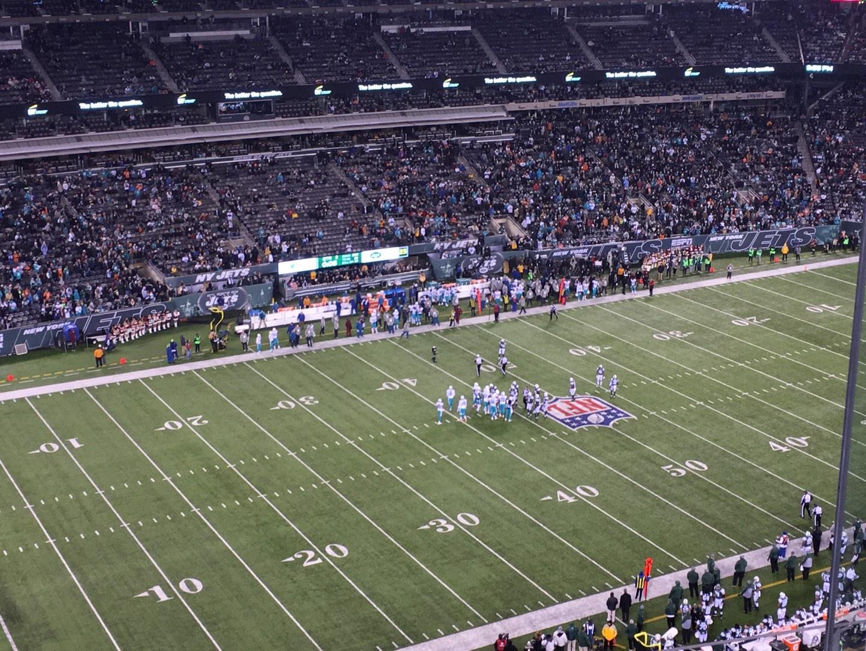MetLife Stadium Section 318 Row 12 Seat 10