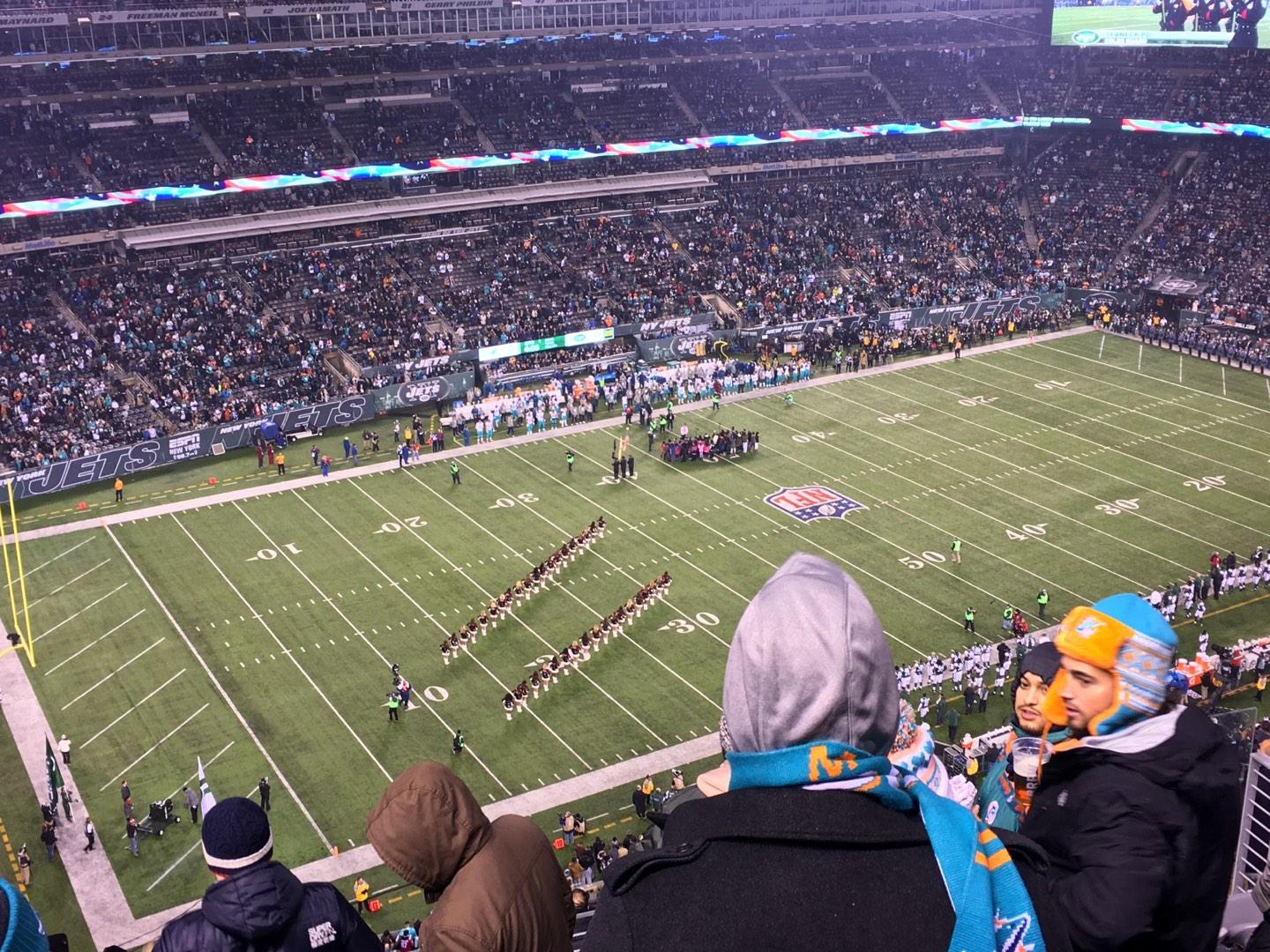 MetLife Stadium Section 318 Row 12 Seat 11