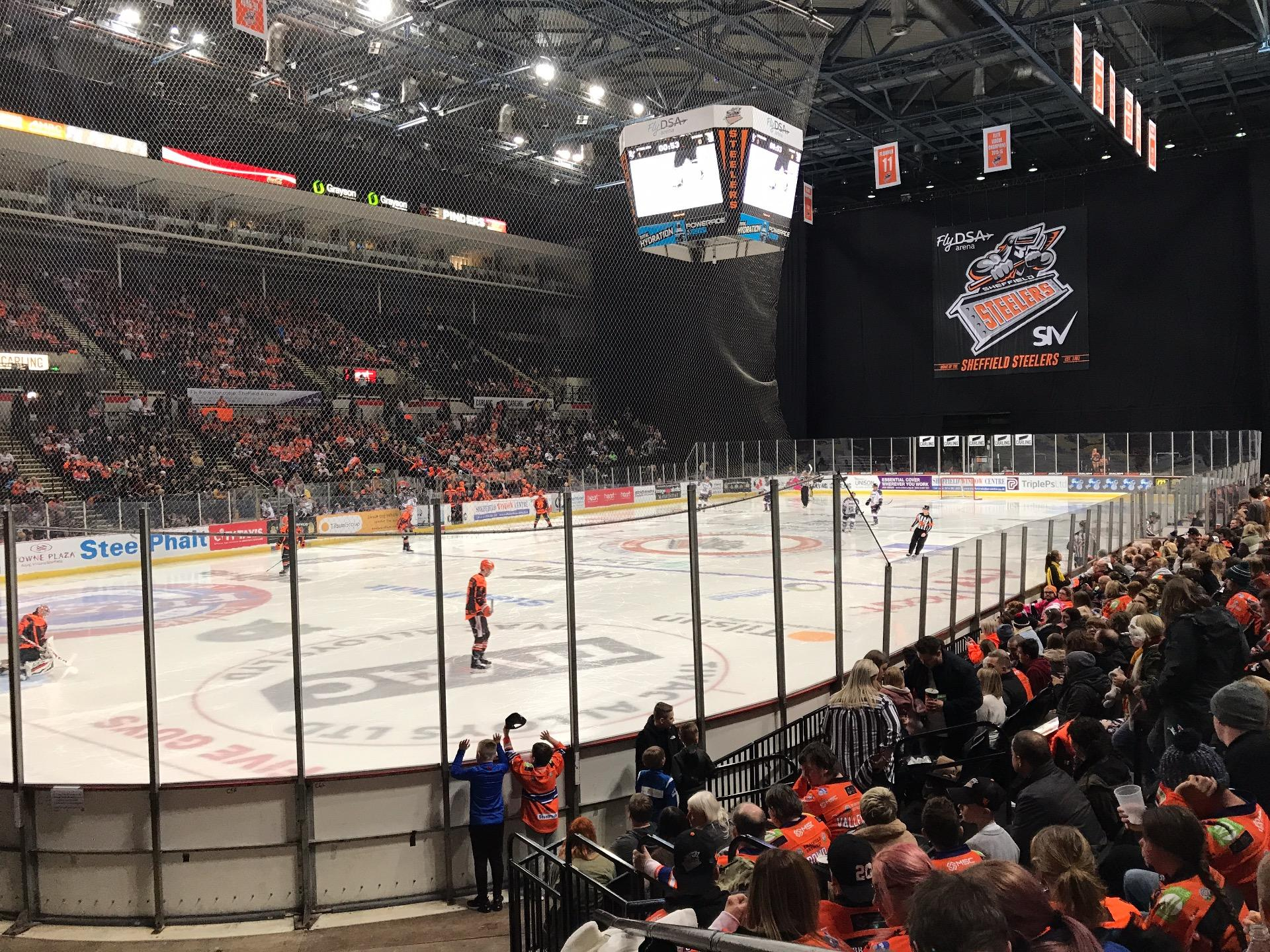 Sheffield Arena Section 114 Row K Seat 2