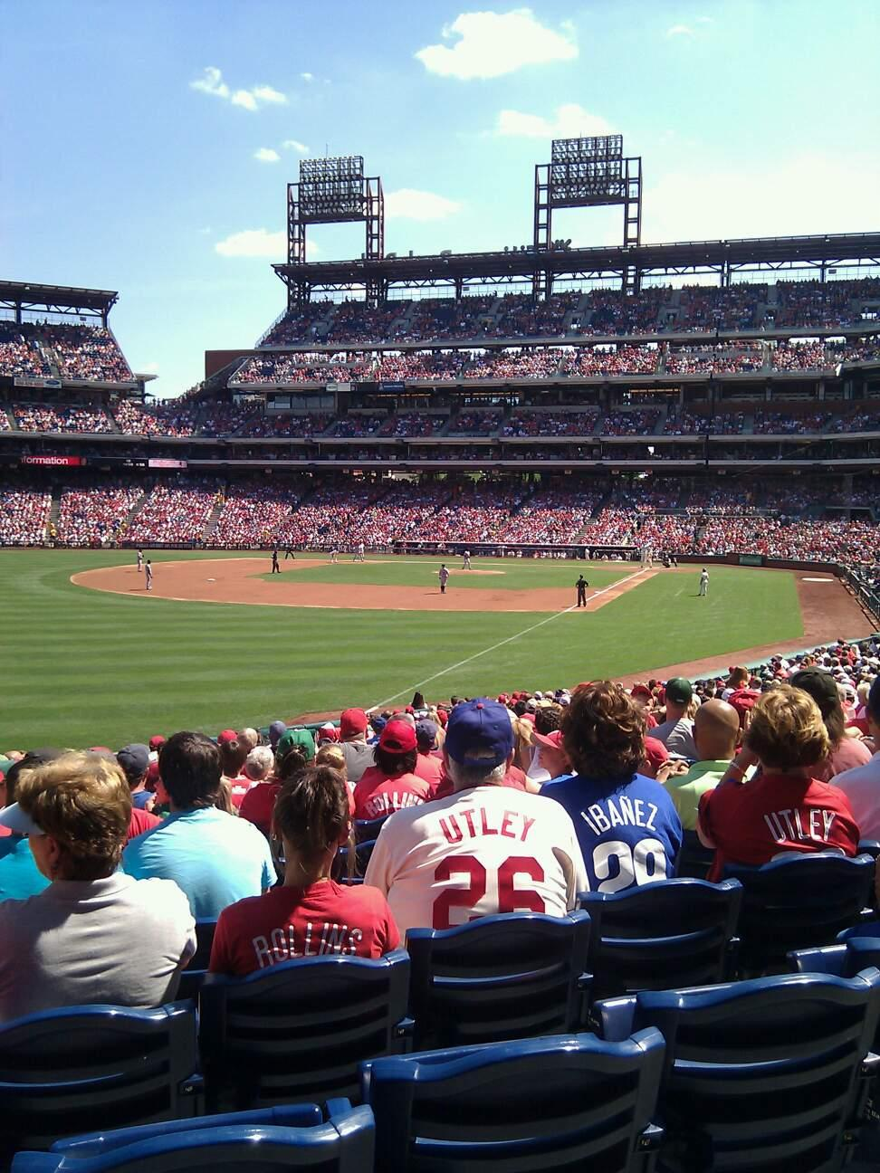 Citizens Bank Park Section 139 Row 29 Seat 12