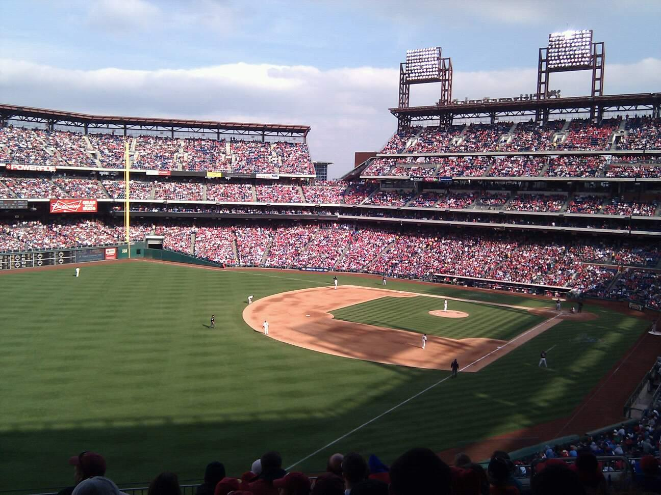Citizens Bank Park Section 236 Row 9 Seat 7