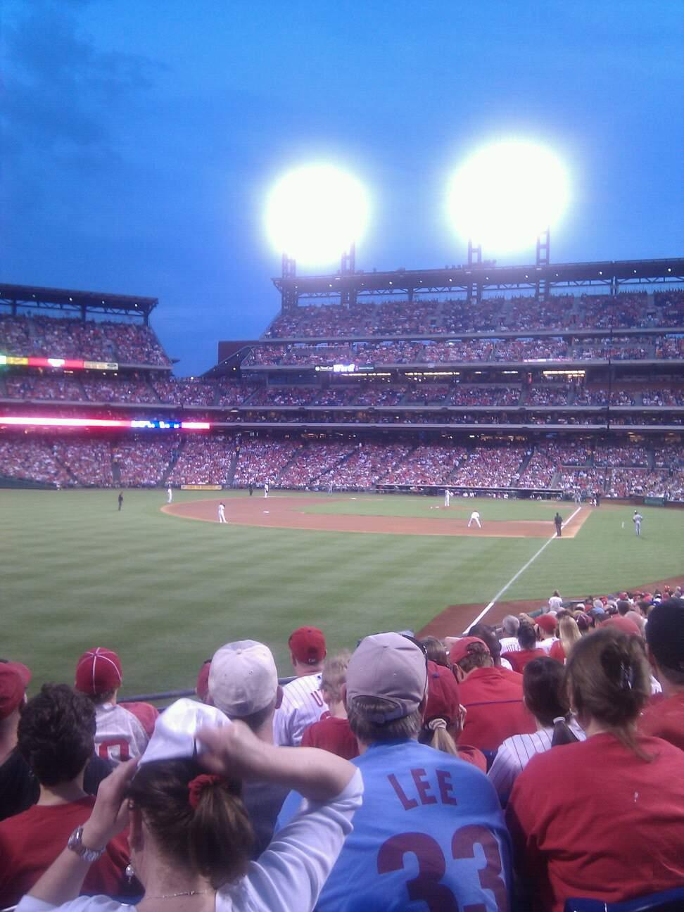 Citizens Bank Park Section 140 Row 13 Seat 7