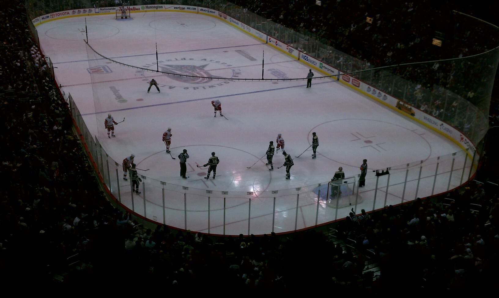 Nationwide Arena Section 226 Row D