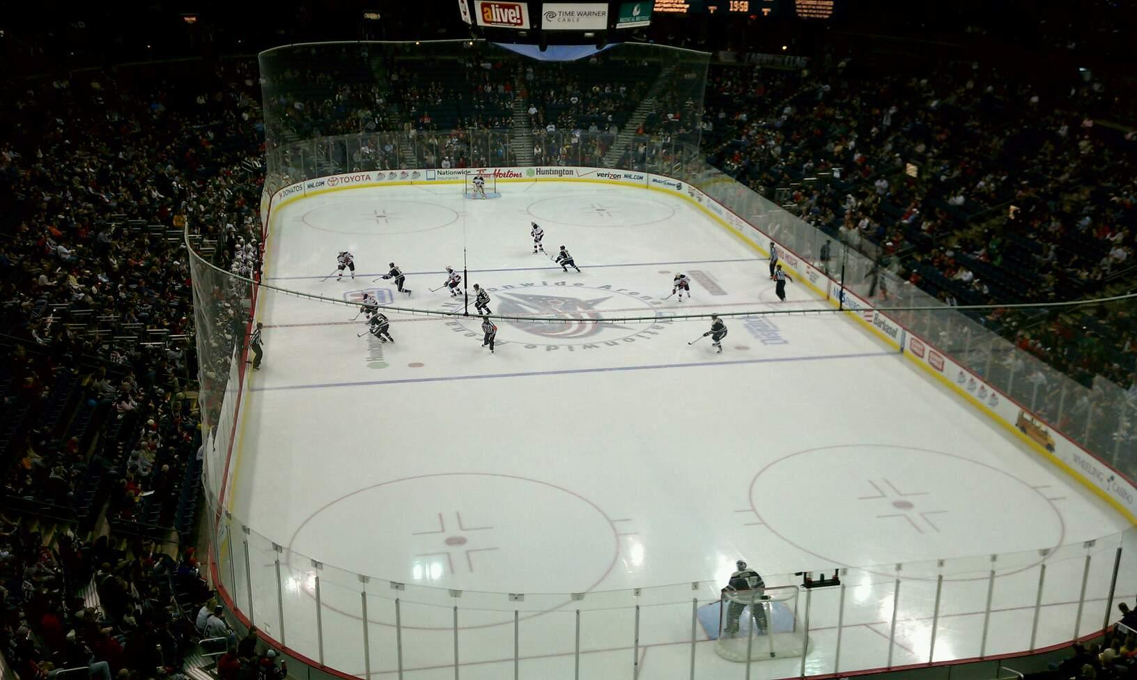 Nationwide Arena Section 225 Row C Seat 8