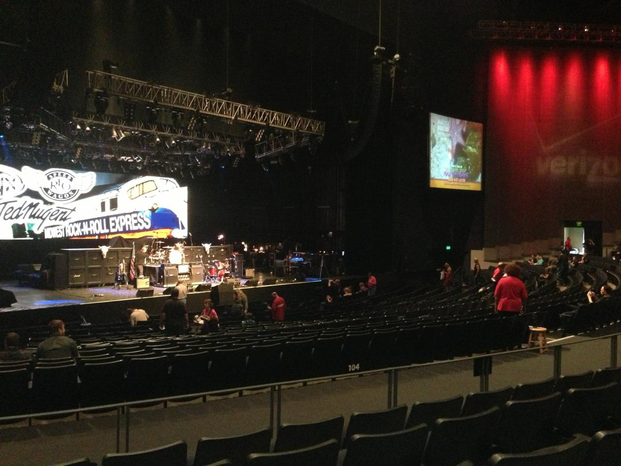 Verizon Theatre Section 205 - RateYourSeats.com