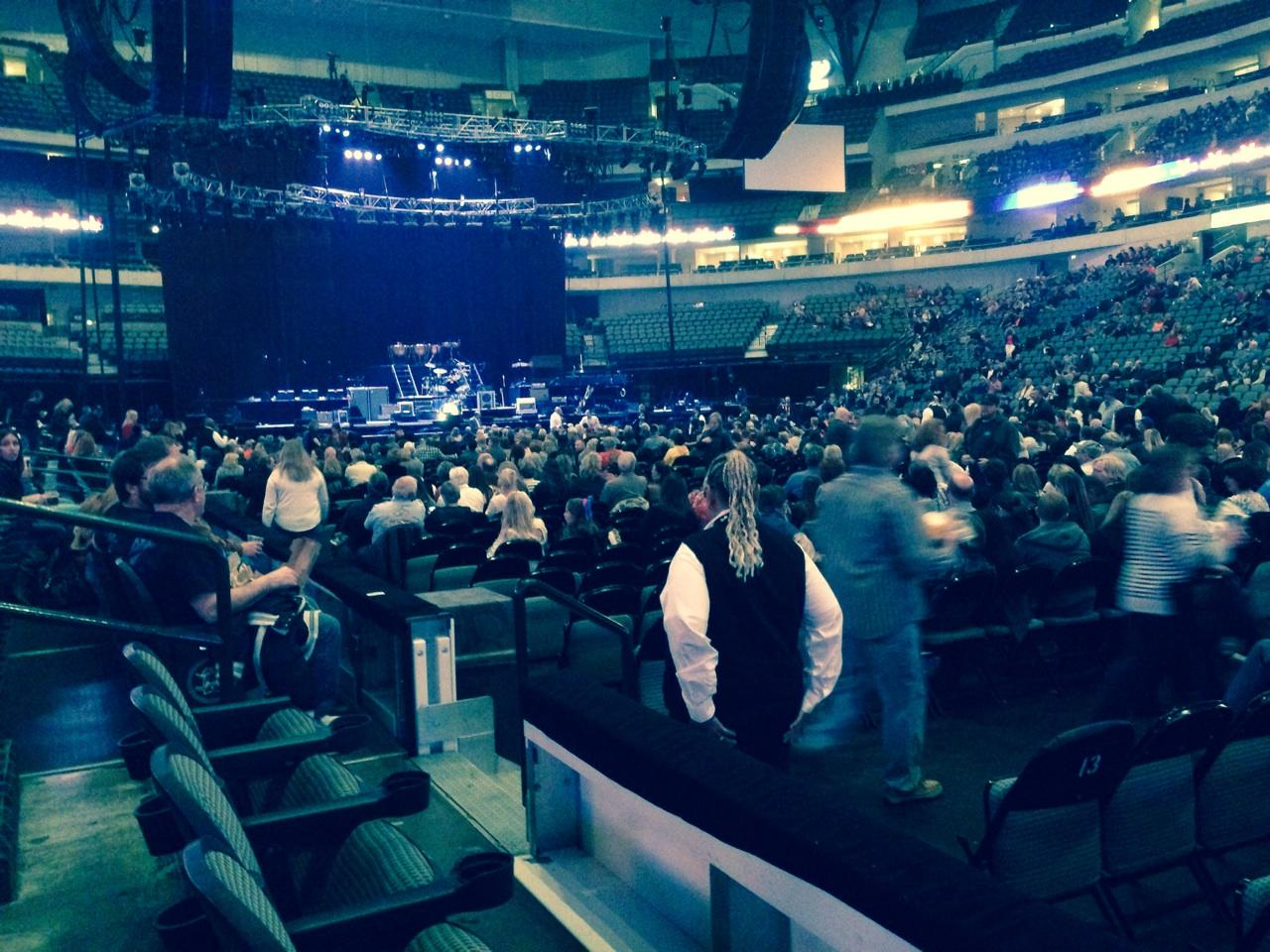 American Airlines Center Section 117 Concert Seating
