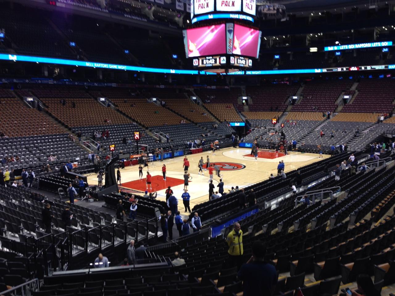 Air Canada Centre Section 111 Seat Views/SeatScore ...