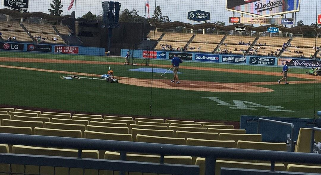 Dodger Stadium Section 3FD Row A Seat 1