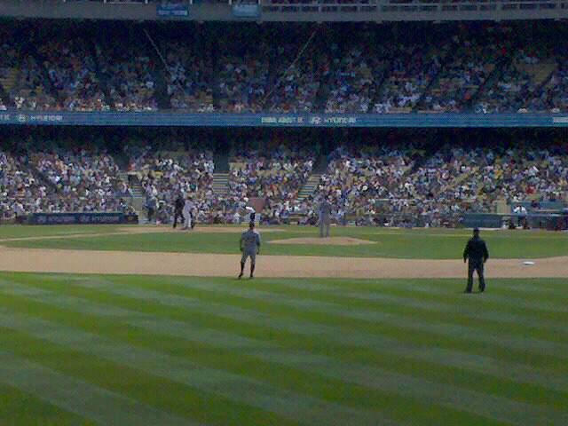 Dodger Stadium Row 1 Seat 3