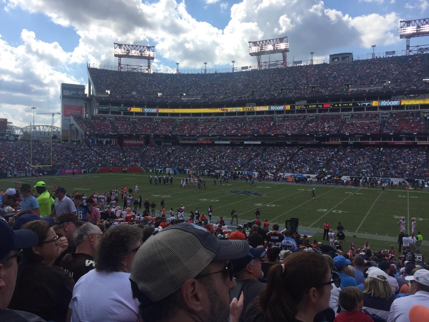 Nissan Stadium Section 110 Row CC