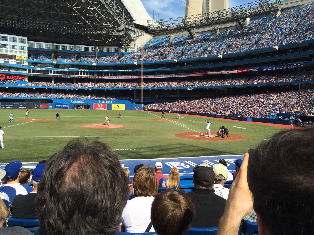 Rogers Centre Section 125 Toronto Blue Jays