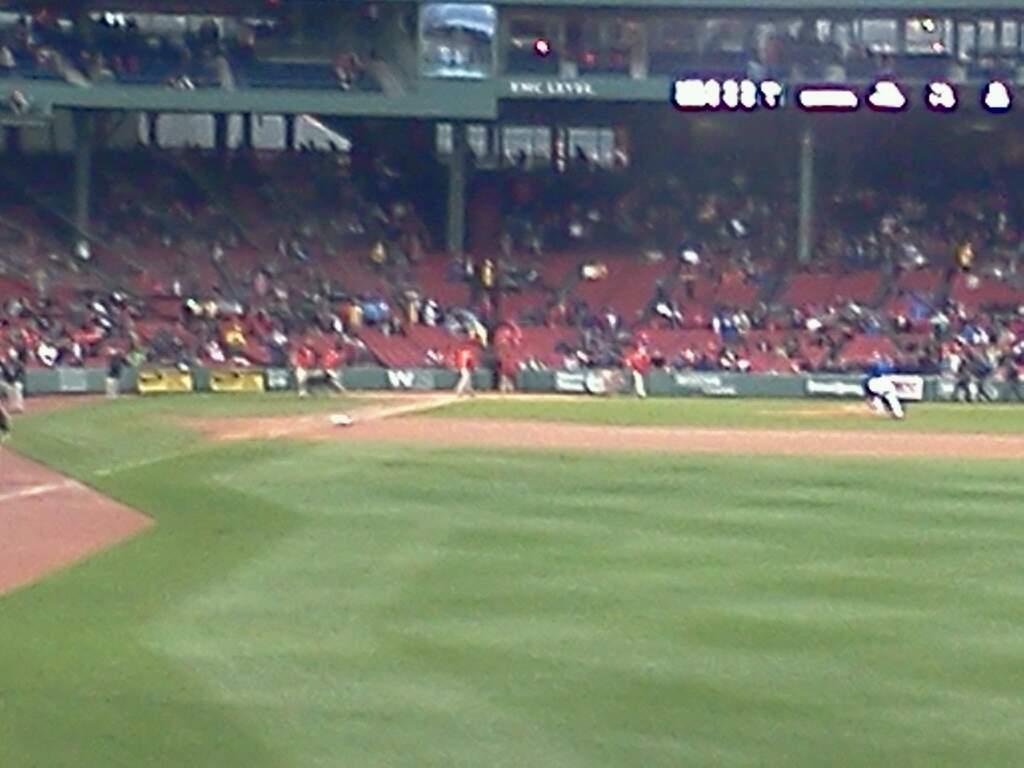Fenway Park Section Right Field Box 88 Row jj Seat 2