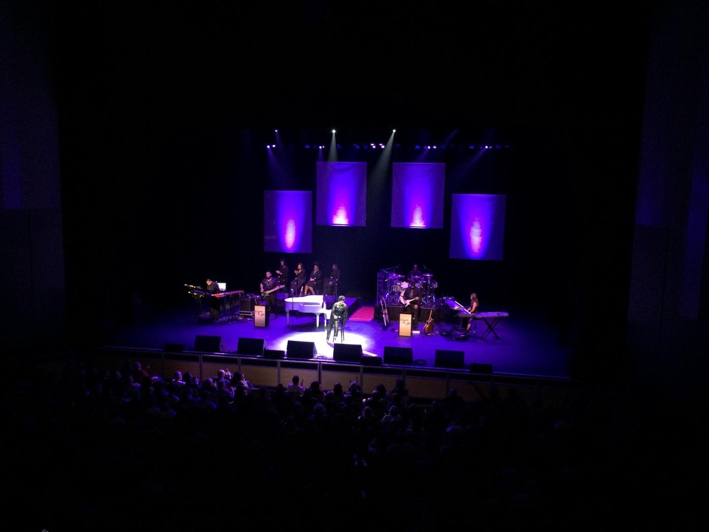 King Center for the Performing Arts Section Grand Tier Row AA Seat 21