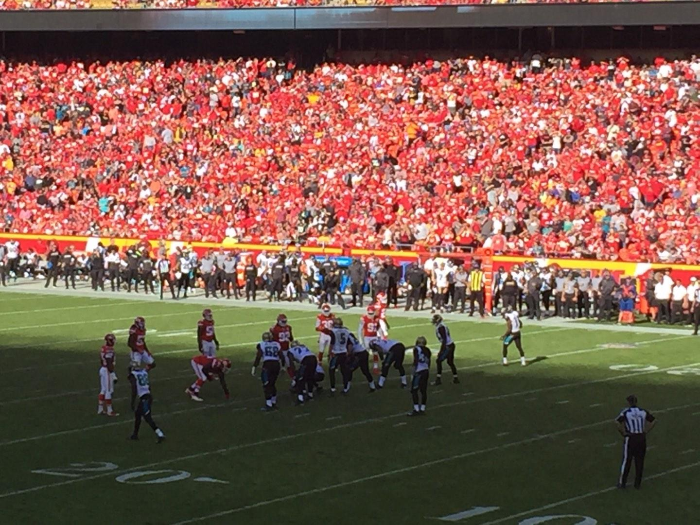 Arrowhead Stadium Section 115 Row 24 Seat 1
