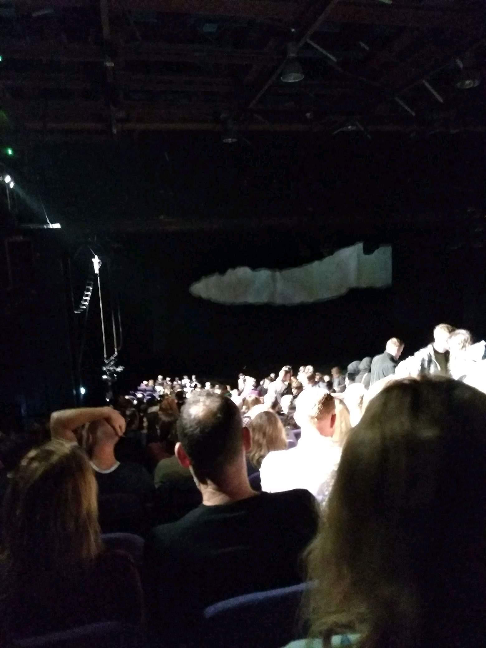 Troubadour Wembley Park Theatre Row ZE Seat 5