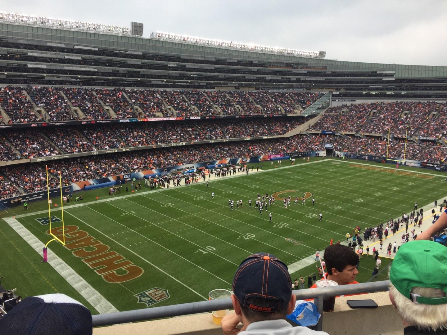Soldier Field Section 444 Row 2 Seat 12