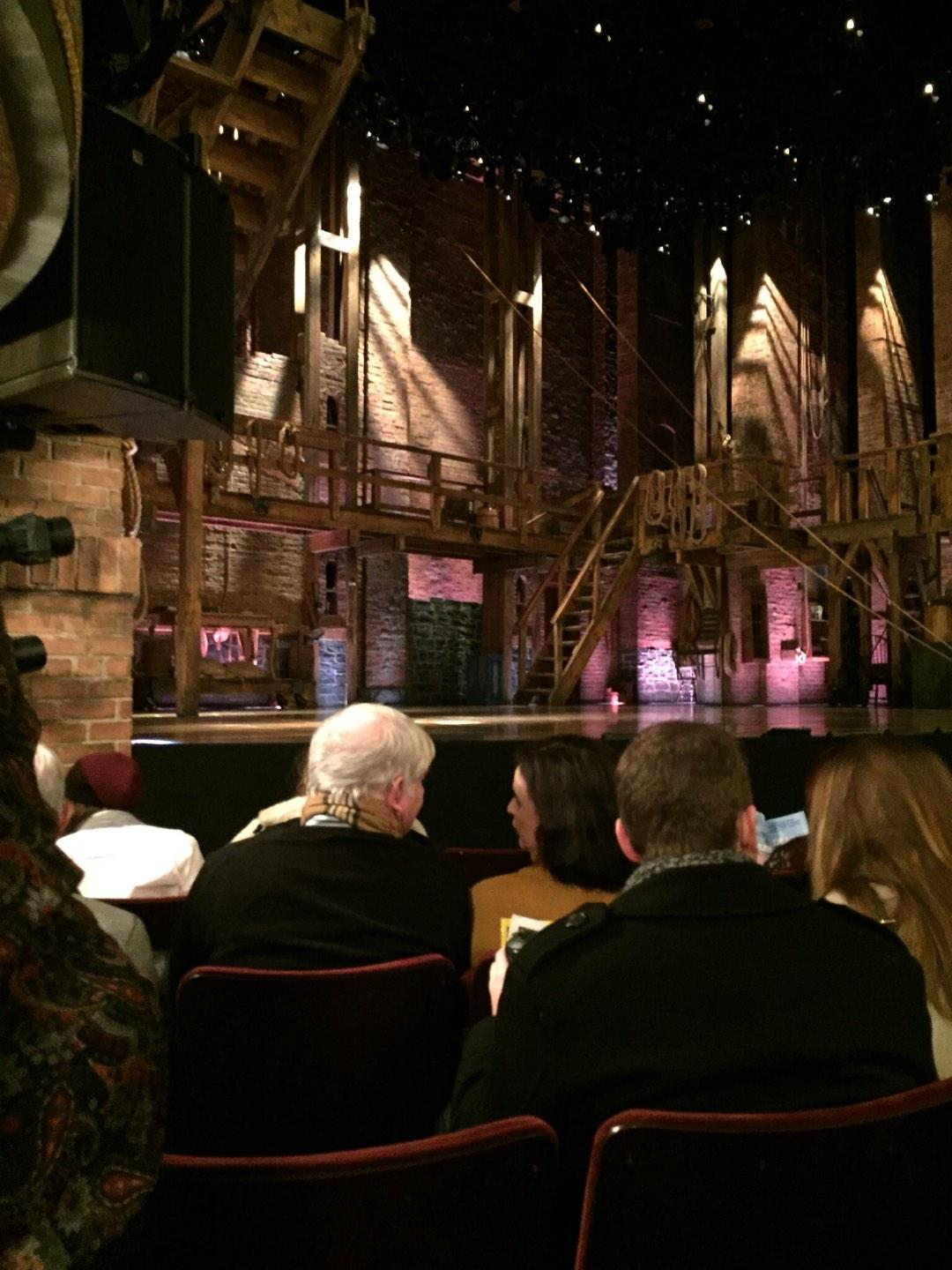 Richard Rodgers Theatre Section Orchestra L Row E Seat 17