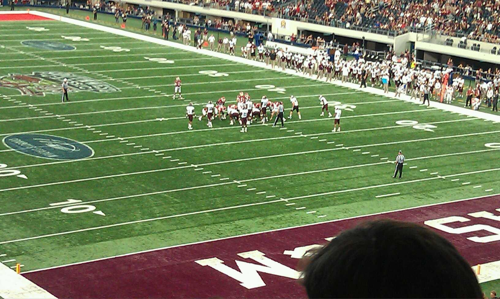 AT&T Stadium Section 227 Row 15 Seat 1