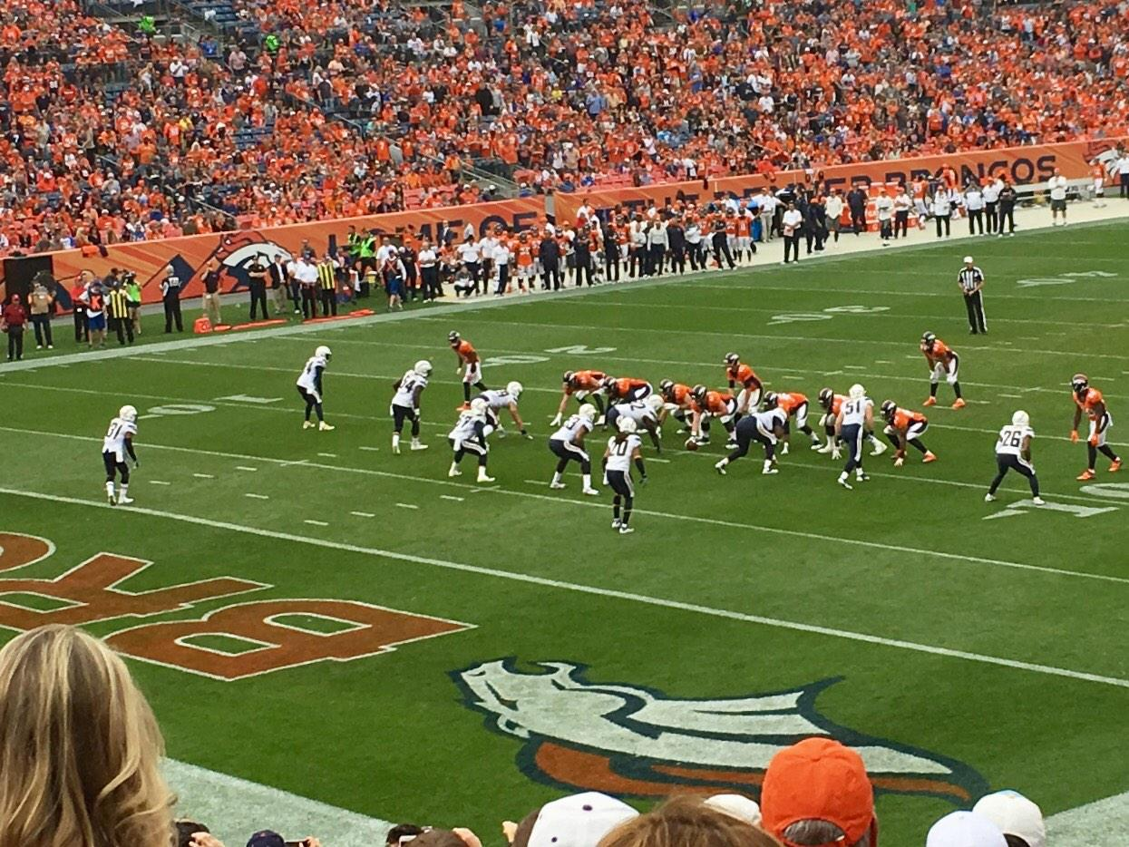 Invesco Field at Mile High Section 128 Row 25 Seat 37