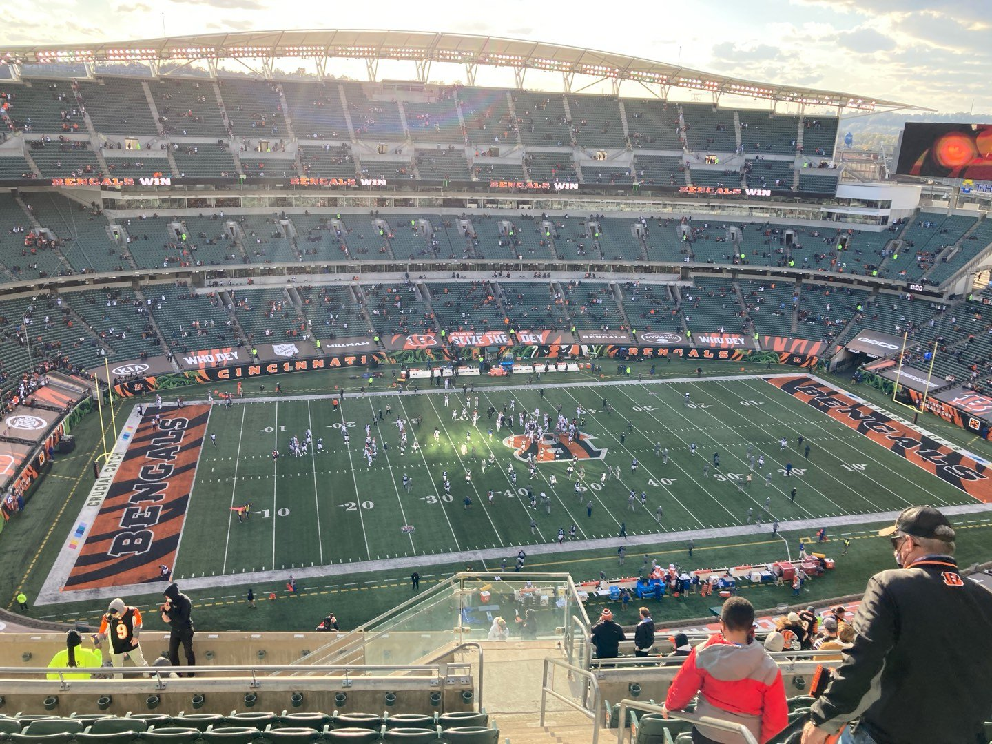 Paul Brown Stadium Section 343 Row 22 Seat 2