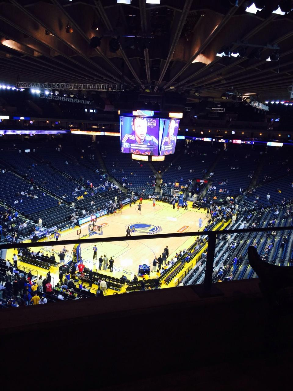 Oracle Arena Section 222 Golden State Warriors