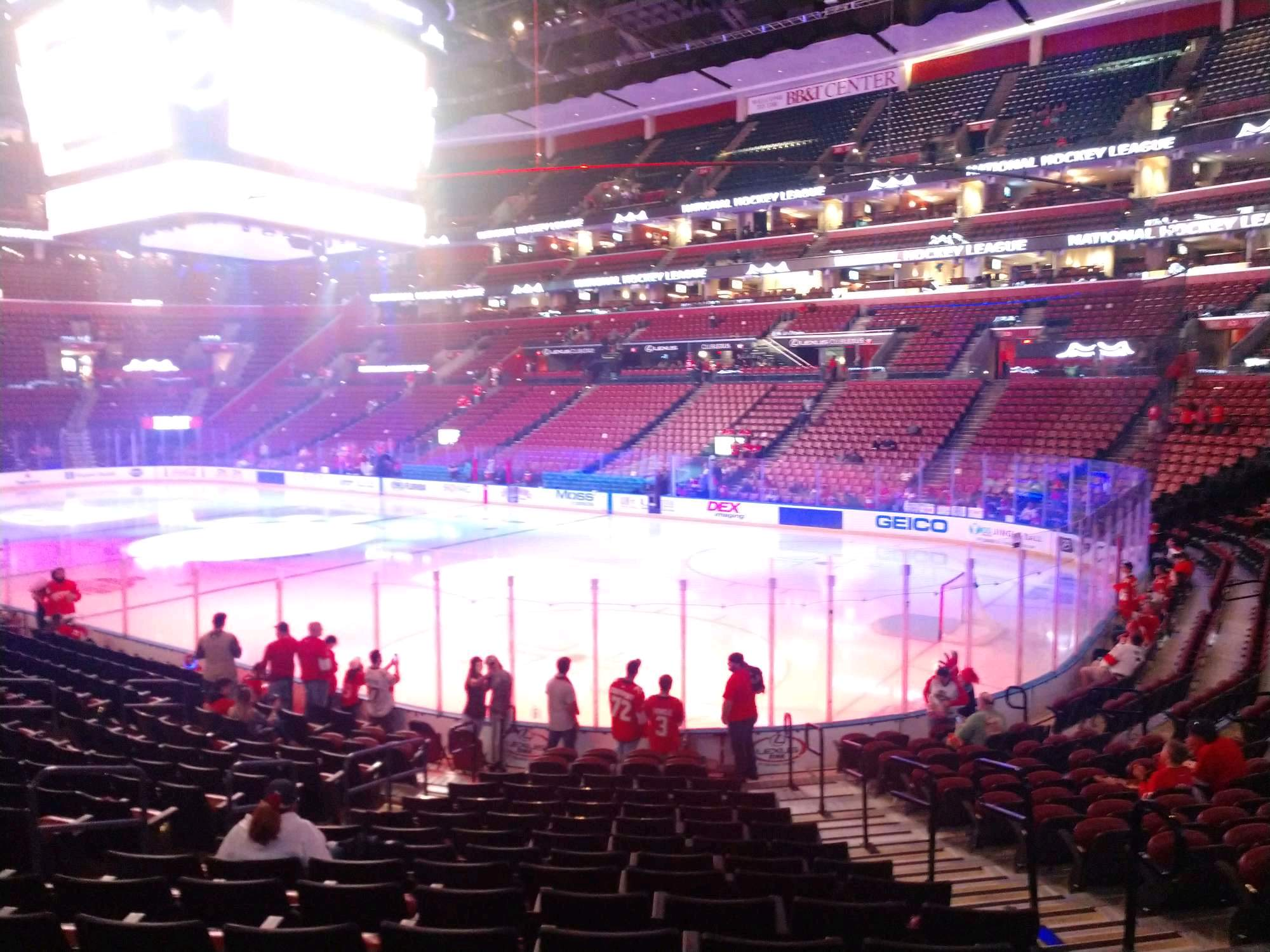 BB&T Center Section 114 Row 16 Seat 6