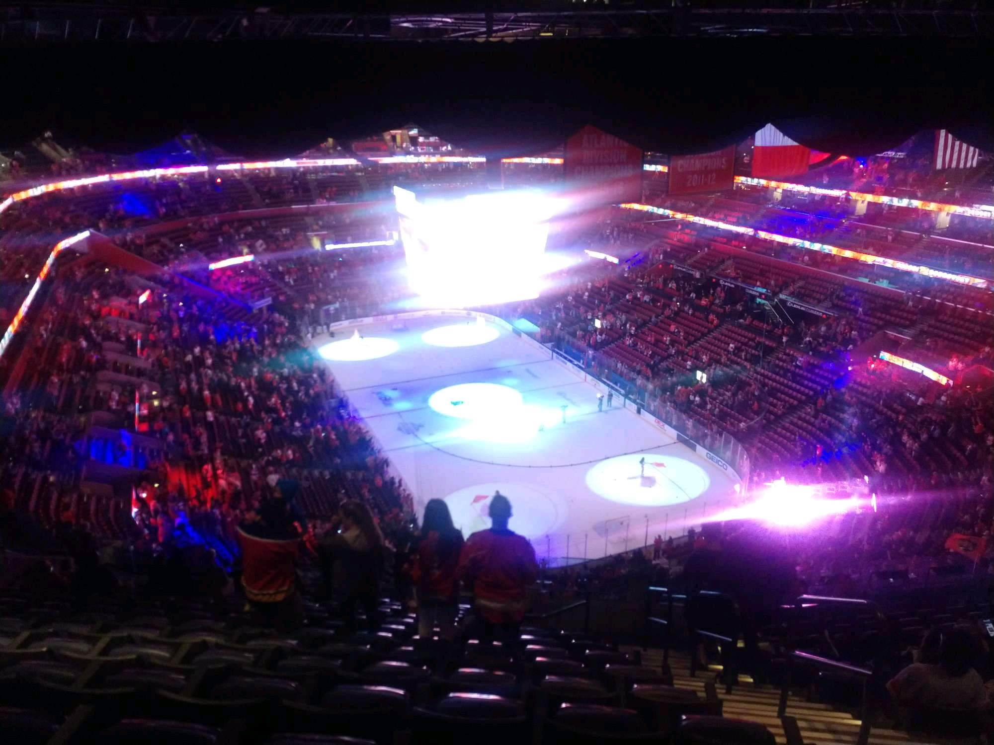 BB&T Center Section 312 Row 16 Seat 6