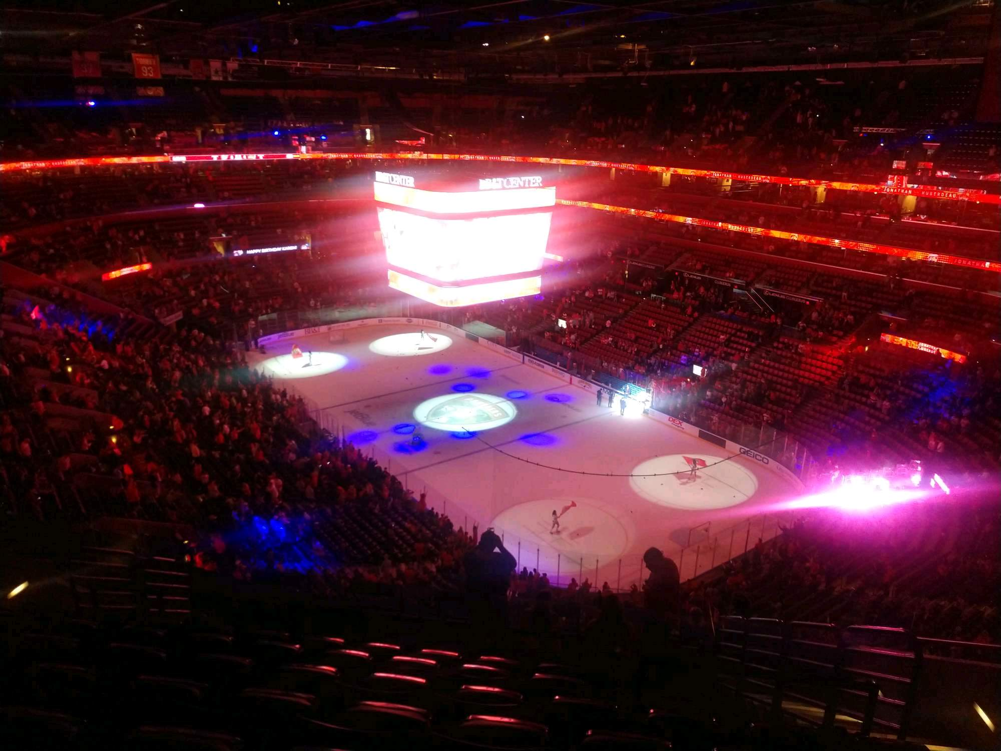 BB&T Center Section 313 Row 11 Seat 8